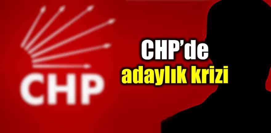 CHP aday krizi Salı günü açıklanabilir!