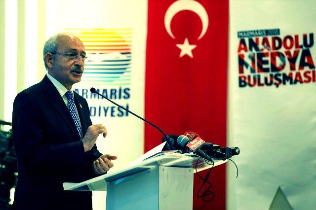 CHP lideri Kemal Kılıçdaroğlu Marmaris'te düzenlenen Anadolu Medya Buluşması'nda konuştu