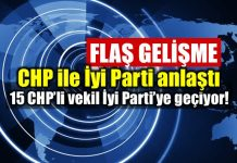 CHP ile İyi Parti anlaştı: CHP'den 15 milletvekili İyi Parti'ye geçiyor
