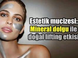 Estetik mucizesi: Mineral dolgu ile doğal lifting etkisi