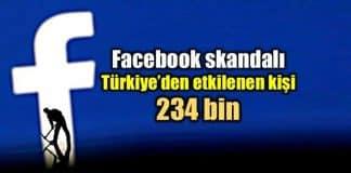 Facebook Cambridge Analytica skandalı: Türkiye de 234 bin kişi etkilendi