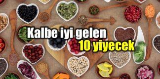 Kalp sağlığını koruyan kalbe iyi gelen yiyecekler listesi
