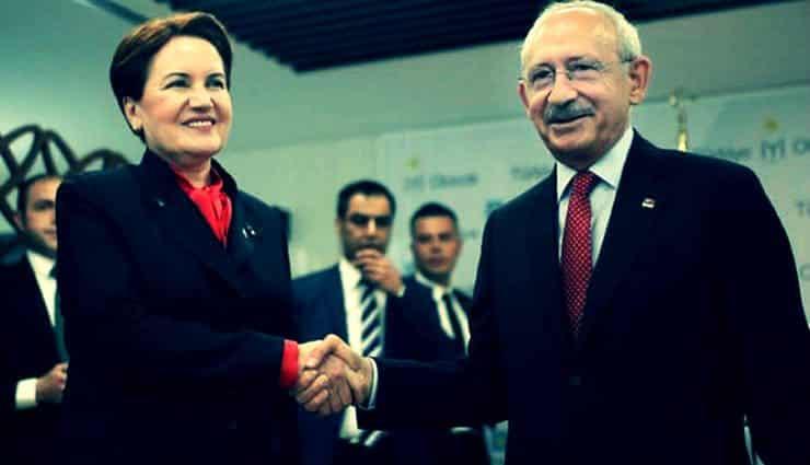 Kemal Kılıçdaroğlu Meral Akşener chp iyi parti ittifakı