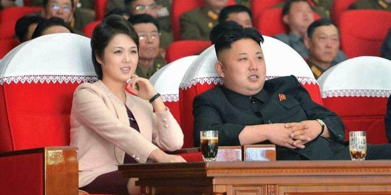 Kuzey Kore lideri kim jong-un ve eşi firstlady