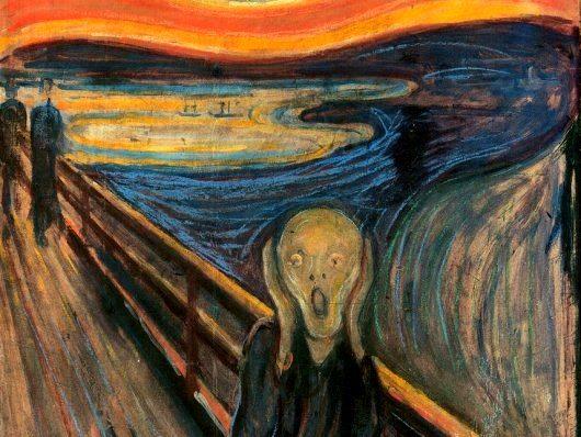 """munch Ünlü """"Çığlık"""" tablosu, küme baş ağrılarının eseri"""