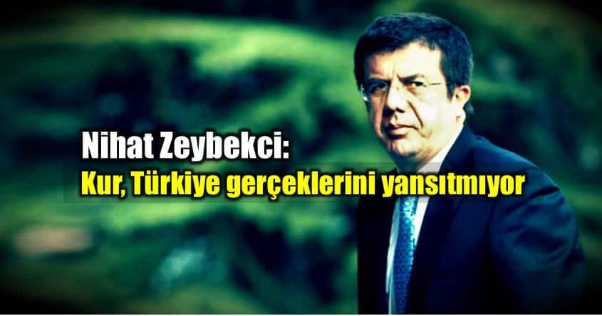 Nihat Zeybekci: Kur Türkiye gerçeklerini yansıtmıyor