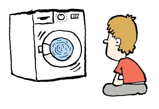 otizm dönen çamaşır makinesi
