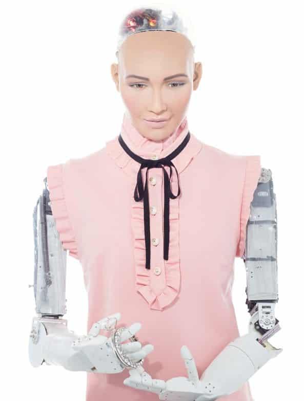 robot sophia türkiye istanbul marketing meetup