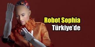 insansı robot sophia türkiye yapı kredi reklam