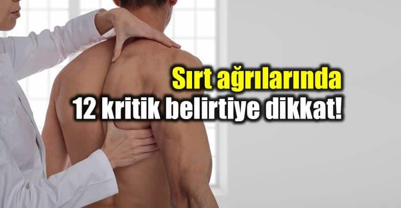 Sırt ağrısı bazı hastalıkların belirtisi olabilir!