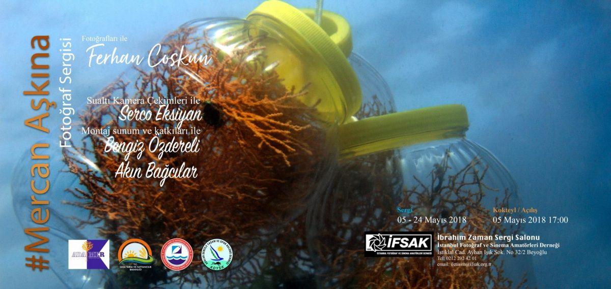 Mercan Aşkına: Ferhan Coşkun yeni fotoğraf sergisi ifsak
