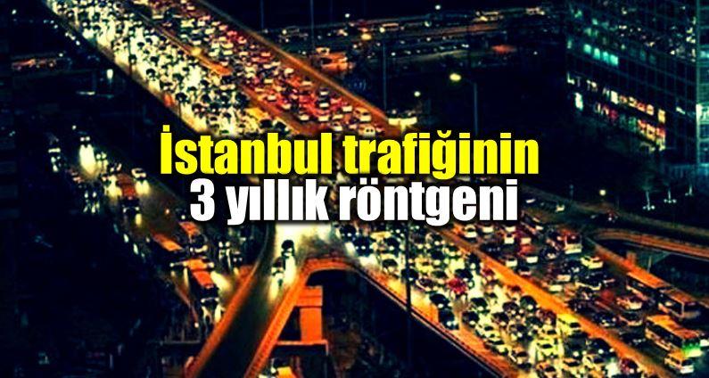 Yandex İstanbul trafiğinin 3 yıllık röntgenini çekti