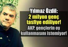 Yılmaz Özdil: 2 milyon genç AKP tarafından tasfiye ediliyor!