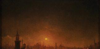 Ay ışığında İstanbul tablosu Beyaz Müzayede'de satışa sunulacak!