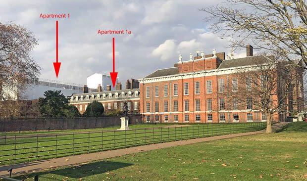 Prens Harry ve Prens William kapı komşusu olacaklar kensington palace