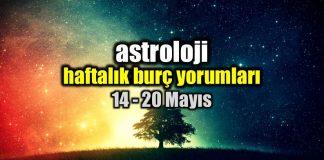 #Astroloji: Haftalık burç yorumları 14 - 20 Mayıs tarihleri arasında Koç, Boğa, İkizler, Yengeç, Aslan, Başak, Terazi, Akrep, Yay, Oğlak, Kova ve Balık burçlarını neler bekliyor?