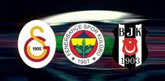 Beşiktaş, Galatasaray ve Fenerbahçe sosyal medya analizi
