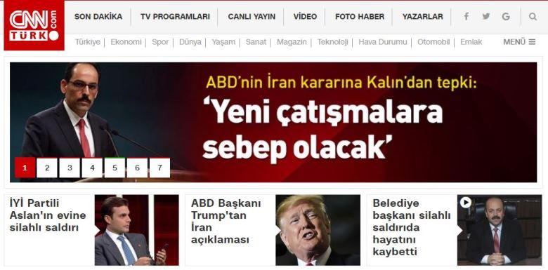 cnn türk cnnturk tamam twitter yer vermedi