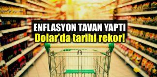 Enflasyon tahminleri aştı: Dolar rekor kırdı!