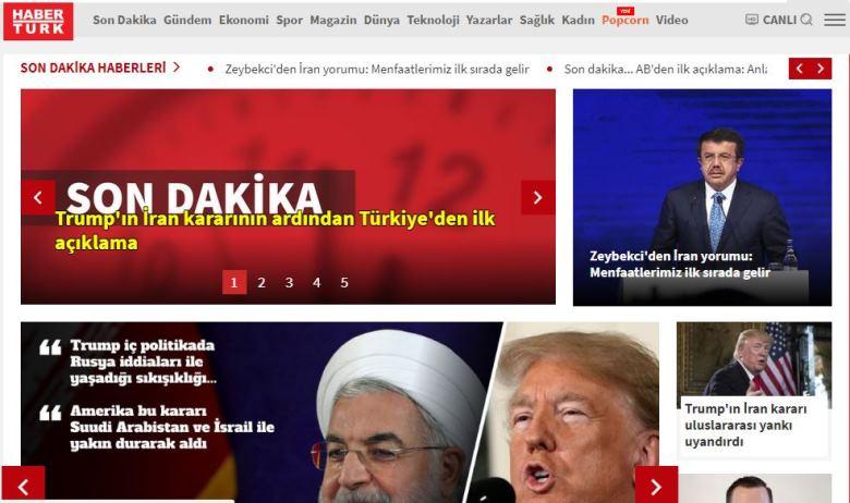 haber türk haberturk tamam twitter yer vermedi