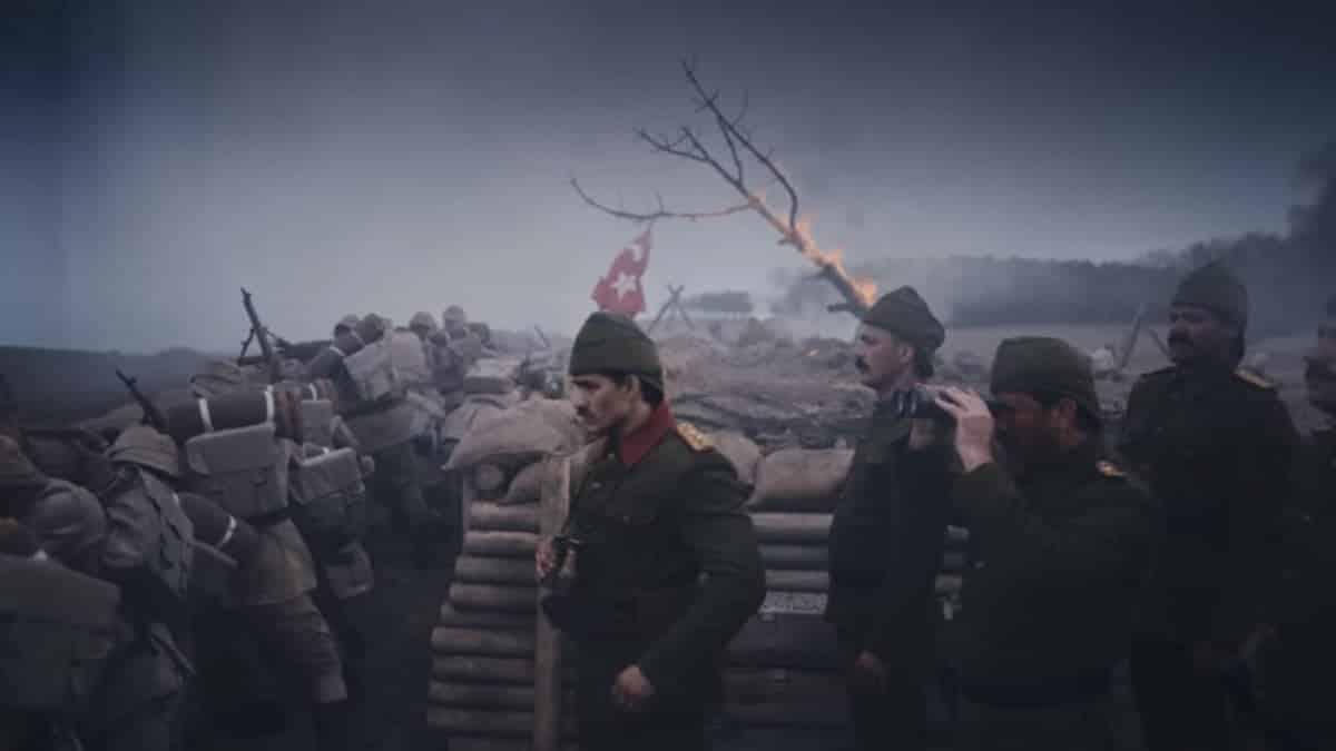 istanbul'un fethi reklam filmi atatürk