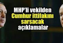 MHP atila kaya Cumhur ittifakı ülkücüler Erdoğan a oy vermeyecek
