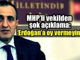 ülkü ocakları başkanı MHP milletvekili Atilla Kaya: Erdoğan a oy vermeyin, tabuta son çiviyi çaktırmayın