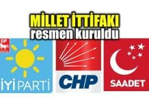 millet ittifakı üç parti logo hangi partiler