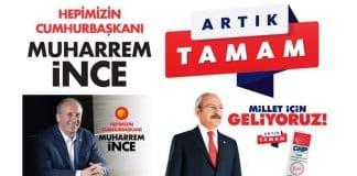 Muharrem ince kemal kılıçdaroğlu ve CHP nin 24 Haziran seçim sloganı belli oldu