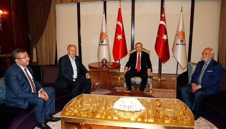 Muharrem ince recep tayyip erdoğan görüşmesi ak parti genel merkezi