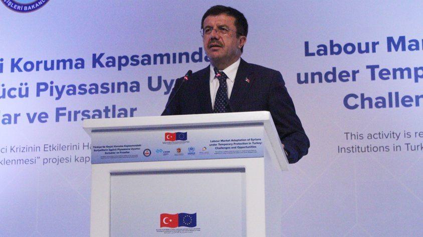 Ekonomi Bakanı Nihat Zeybekci: 10 milyon Suriyeli olsa dahi kapılarımızı kapatmayacağız!