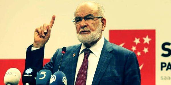 Saadet Partisi lideri Temel Karamollaoğlu