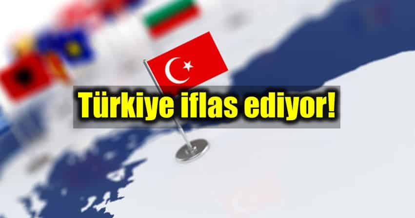 Türkiye'de 4 yılda yarım milyon esnaf iflas etti