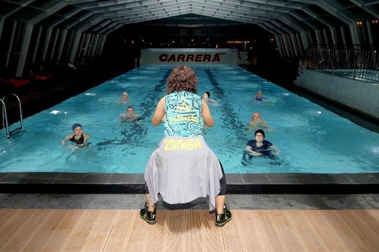 Aquazumba aqua zumba dersleri carrera mistral izmir