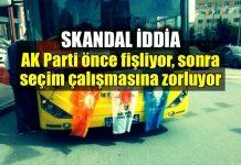 Skandal iddia: AK Parti'den fişleme ve zorla seçim çalışması