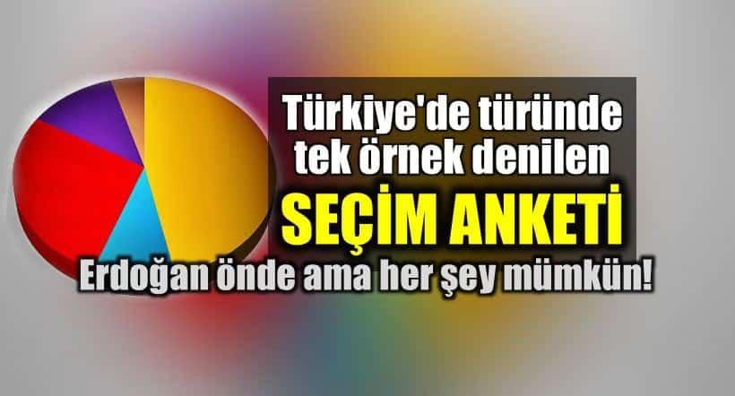 Bloomberg seçim anketi: Erdoğan önde ama her şey mümkün!