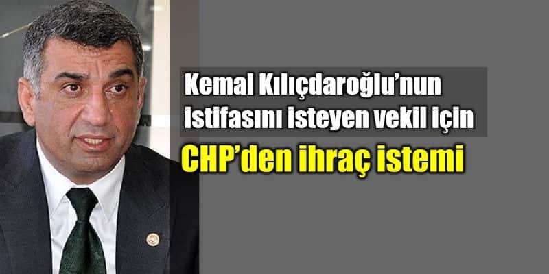 CHP Elazığ Milletvekili Gürsel Erol ihraç istemiyle disipline sevk edildi