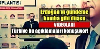 Erdoğan gündeme bomba gibi düşen hdp videoları