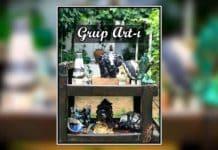 Grup Artı karma seramik sergisi Akyaka gökova marmaris muğla