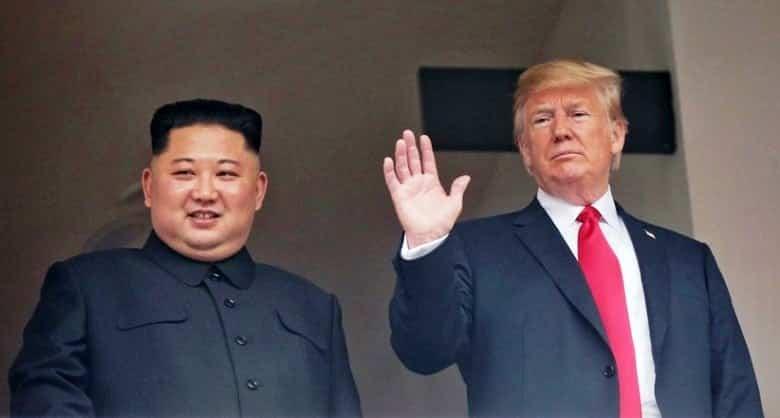 Kuzey Kore lideri Kim Jong abd başkanı donald trump