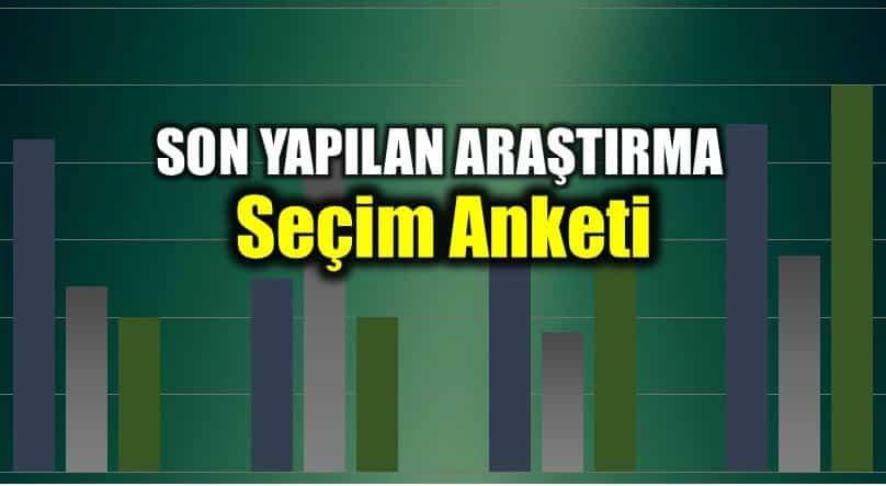Mediar en son seçim anketi sonuçları açıklandı