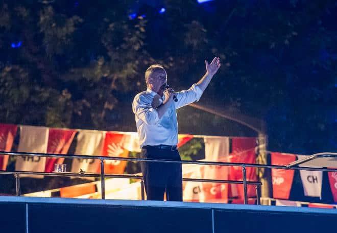 Muharrem ince kadıköy gece yürüyüşü mitingi göztepe
