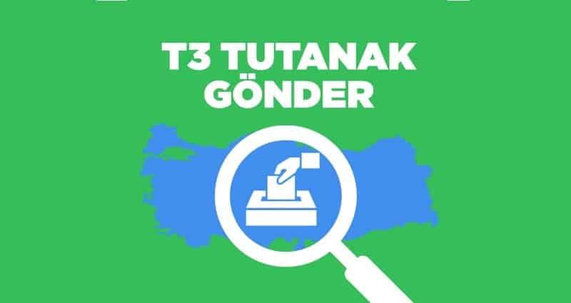 Oy ve Ötesi güncellenen T3 tutanak gönder uygulaması 24 haziran seçim