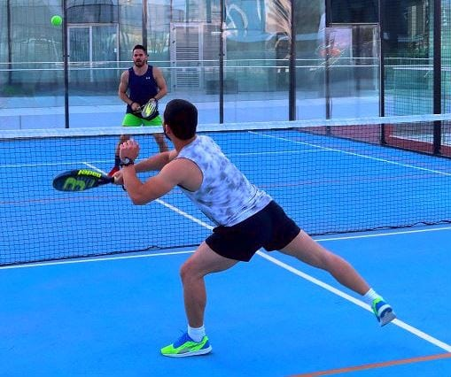 paddel tenis carrera mistral izmir