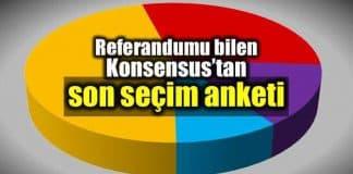Konsensus en son seçim anketi: HDP baraj tehlikesinde!