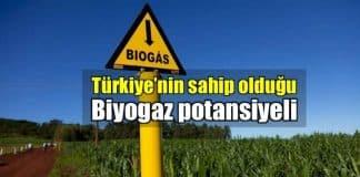 Türkiye sahip olduğu biyogaz potansiyeli