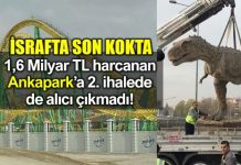 israf Ankapark ihale melih gökçek maliyeti ankara büyükşehir belediyesi