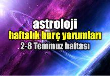 Astroloji: 2 - 8 Temmuz 2018 haftalık burç yorumları