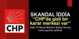 Skandal iddia: CHP de gizli bir karar merkezi var şaban sevinç tuncay özkan sevilay yılman