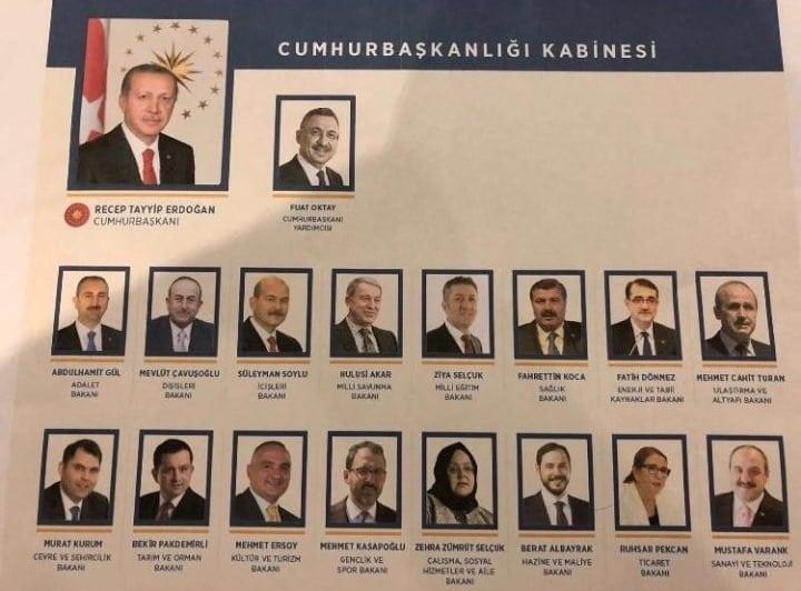 Yeni kabine belli oldu: Erdoğan açıkladı! Kimler bakan oldu?